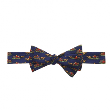 Wm. Lamb & Son - Quail Wagon Bow - Navy
